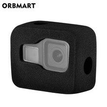 Coupe vent pour GoPro Hero 8 noir pare brise vent mousse couverture vent réduction du bruit étui coupe vent pour Go Pro 8 accessoires appareil photo