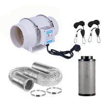 4 Inch Grow Tent Centrifugal Fans& tent room fan carbon filter grow light GrowTent Hydroponic GreenHouse LED HPS Grow