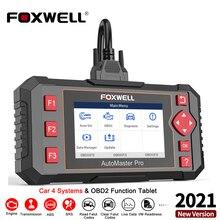 FOXWELL NT604 Elite OBD2 Diagnostic Scanner SRS ABS Engine Transmission System Live Data Printing Car OBD 2 Scanner Professional