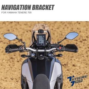 Motorcycle Navigation Bracket Mobile Phone GPS Plate Bracket Phone Holder USB For Yamaha Tenere 700 TENERE 700 Tenere700