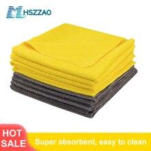 Asciugamano in microfibra di cristallo cerato per lavaggio auto Extra morbido asciugamano per pulizia auto panno per asciugatura cura dellauto dettaglio del panno asciugamano per auto mai macchiato