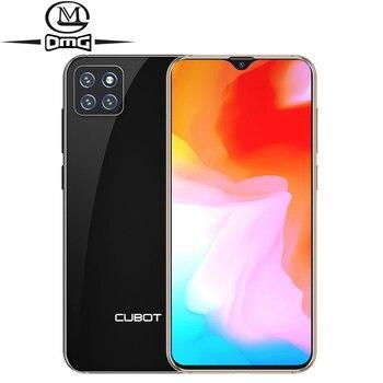 Перейти на Алиэкспресс и купить Cubot X20 Pro смартфон с 6,3-дюймовым дисплеем, восьмиядерным процессором Helio P60 AI, ОЗУ 6 ГБ, ПЗУ 128 ГБ, Android 9,0, 4G