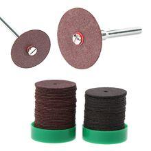 цена на 36pcs 24mm Abrasive Disc Cutting Discs Reinforced Cut Off Grinding Wheels Rotary Blade Cuttter Tools
