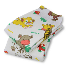 Waist 70-100cm DDLG Diapers Printed Animal M Size Adult Diaper Adult Baby Girl, Adult Baby Boy For 5 Pcs/ Package