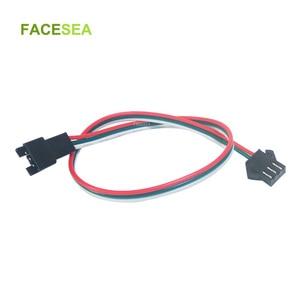 Image 1 - 100 adet 3 pin JST SM konektörü 30cm 50cm 1m 2m Led erkek dişi fiş LED konnektör kablo tel için WS2812B WS2811 SK6812 LED şerit