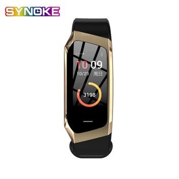 New Multi-function Smart Watch Men's and Women's Fitness Bracelet Heart Rate Sleep Monitoring Social Reminder Digital Watch