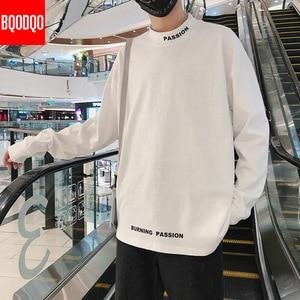 Image 3 - Golf codzienna koszulka dla mężczyzn z długim rękawem wiosna jesień Hip hop moda koszulki Fitness mężczyzna ponadgabarytowych Harajuku Streetwear t shirty