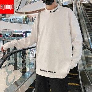 Image 3 - גולף מזדמן T חולצת גברים ארוך שרוול אביב סתיו היפ הופ אופנה כושר Tees זכר Harajuku הגדול Streetwear T חולצות