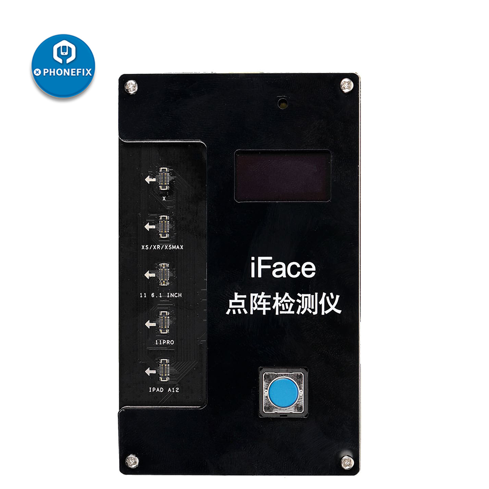 For Face X 11 ID IFace Face Qianli Pro Testing Quick Max IPAD Diagnosis Detection A12 IPHONE Repair Dot Matrix Tester Projector