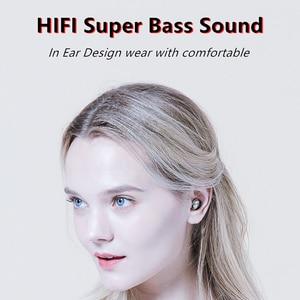 Image 3 - B9 TWS אלחוטי אוזניות אוזניות 8D HIFI Bluetooth 5.0 ספורט מיקרופון אוזניות LED תצוגת משחקי מוסיקה אוזניות עבור טלפונים
