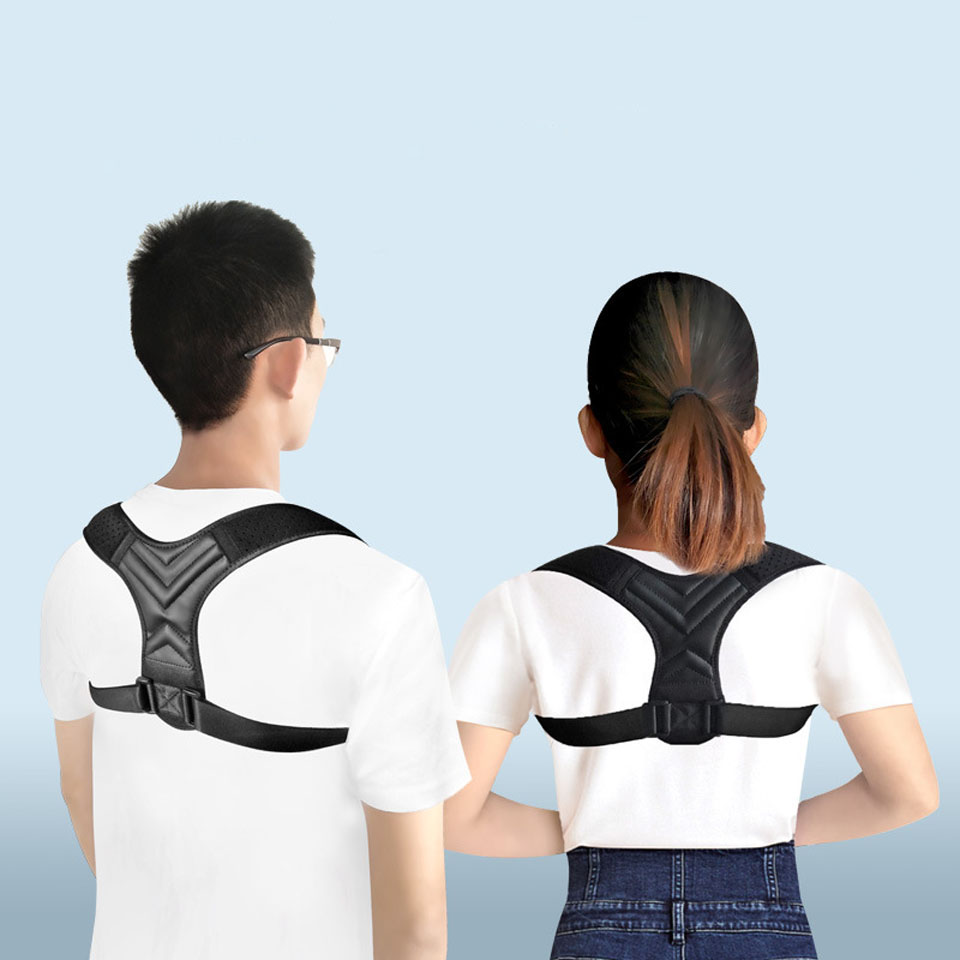 NEW Back Posture Corrector Belt Women Men Prevent Slouching Relieve Pain Posture Straps Clavicle Support Brace 4