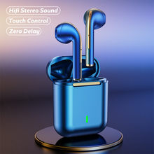 TWS Bluetooth Earphones with Mic 9D HIFI Stereo Sound Wireless Headphones Noise Reduction Earbuds IPX7 Sport Waterproof Headsets