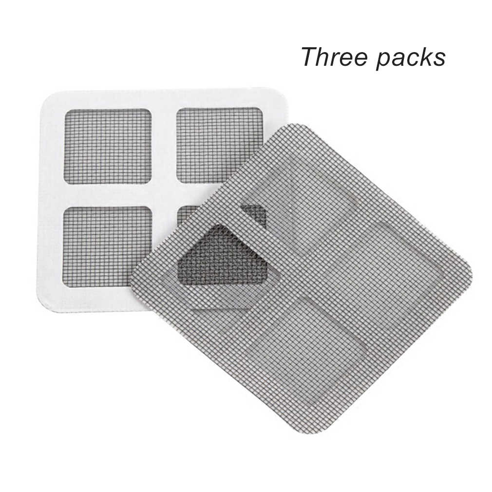 Anti-mosquito Mesh Sticky Wires Patches Summer Window Mosquito Netting Patch Repairing Broken Holes on Screen Window Door