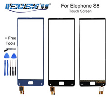 6.0 inch For Elephone S8 Front Glass Touch screen Mobile