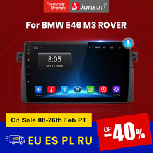 Junsun V1 Android 10,0 AI Voice Control-Auto Radio Multimidia Video Player GPS Für BMW E46 Coupe \u0028M3 Rover\u0029 316i 318i keine 2din dvd