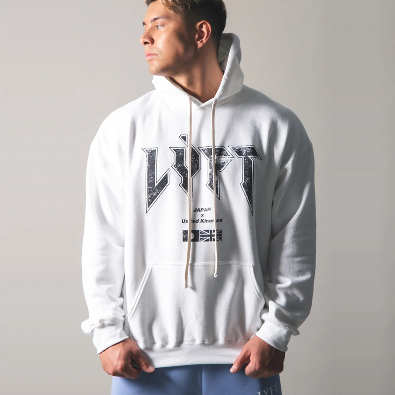 JP&UK 2020 Autumn New Men Gyms Hoodies Gyms Fitness Bodybuilding Sweatshirt Pullover Sportswear Male Workout Hooded Clothing