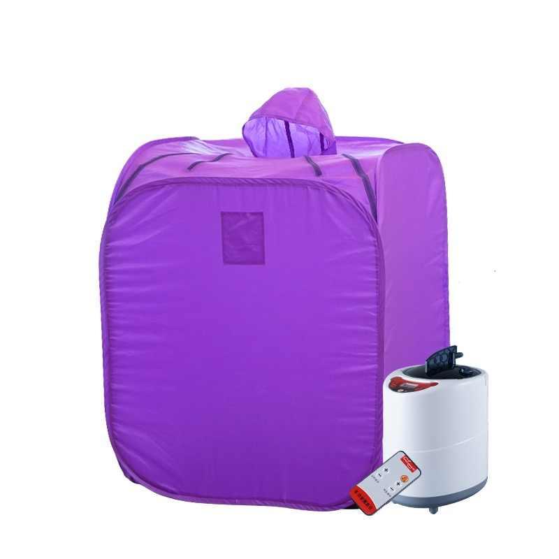 Przenośna Sauna parowa urządzenie do kąpieli parowej Sauna torba generator pary schudnąć zachowaj skórę zdrowa mokra Sauna spalone kalorie