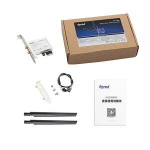 Image 5 - Desktop pci e 1x conversor sem fio com 2400mbps placa de rede para intel ax200 bluetooth 5.0 para janela 10 portátil