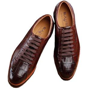 Shoes Business Crocodile Male Men's True Brown Ourui Lace-Up New-Arrival