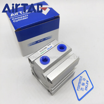цена на SDA63 AIRTAC Type Air Pneumatic Cylinder Double Acting Compact Cylinder SDA63 Bore 63 mm Stroke 30/35/40/45/50mm