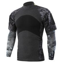 Trening na świeżym powietrzu wojskowa kamuflaż taktyczna koszula z rękawem letni obóz CS strzelanie sportowe oddychające bluzki z krótkim rękawem tanie tanio CN (pochodzenie) SHORT COTTON POLARTEC oddychająca Koszule ZK6785 Camping i piesze wycieczki Dobrze pasuje do rozmiaru wybierz swój normalny rozmiar