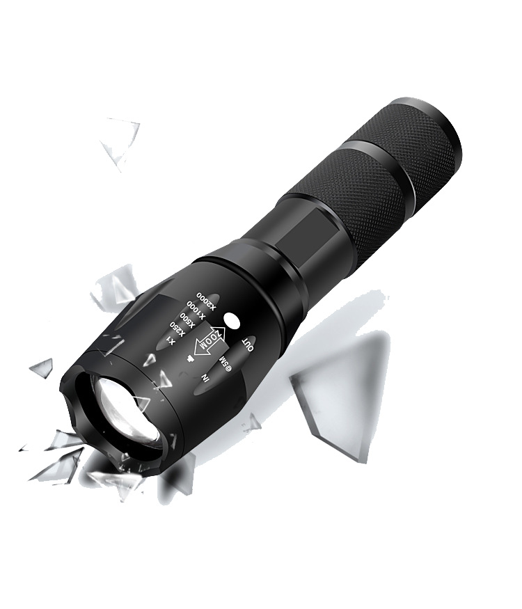 T6/L2 50000LM Aluminum Waterproof Zoomable CREE LED Flashlight Torch Tactical Light