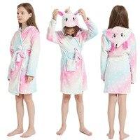 Kigurumi-男の子と女の子のためのパジャマ,バスローブ,柔らかいパジャマ,女の子のための