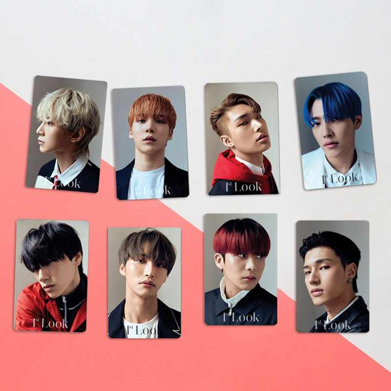 10Pcs Set Kpop ATEEZ Card Stickers New Album ZERO FEVER Kpop Ateez Photocard Crystal Photo Lomo.jpg q50