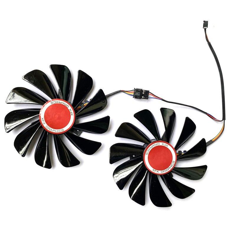 rx5700 vermelho drago gpu ventilador de refrigeração