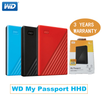 Western Digital WD My Passport hdd 2.5 USB3.0 SATA Portable HDD Storage Memory Devices External Hard Drive Disk 1TB 2TB 4TB 5TB