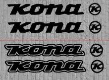 Комплект из 2 предметов одежды: Kona наклейки на велосипед Стикеры комплект MTB DH для Fox Car для укладки волос