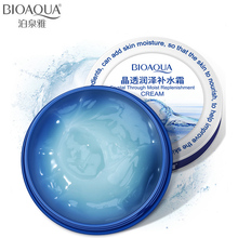 BIOAQUA Face Cream Crystal Moisturizing Face Cream Whitening Hyaluronic Acid Skin Care Lifting Firming Anti Wrinkle Day Cream hyaluronic acid ginseng repair face cream multiple replenishment depth repair skin care beauty moisturizing cream anti wrinkle