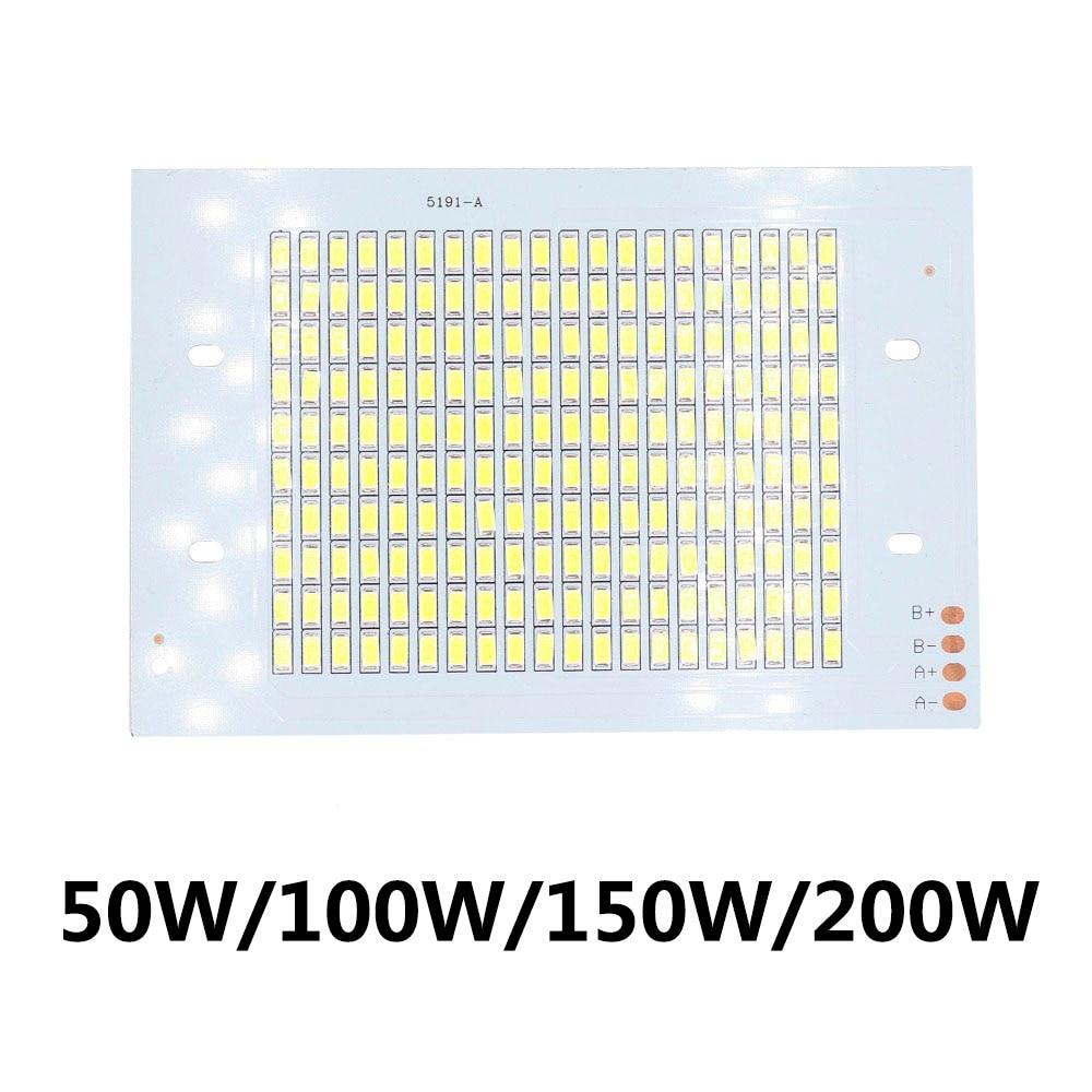 SMD5730 LED Chip Lamp Beads 50W 100W 150W 200W High Power LED COB Floodlight 30-36V For Spotlight Spotlight Outdoor Light Board