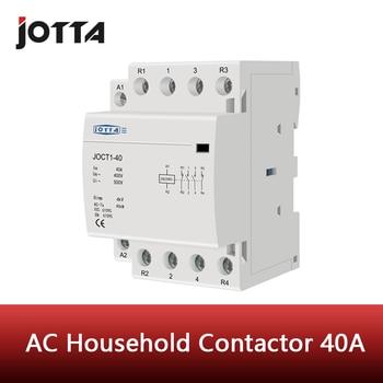 цена на 4P 40A 220V/230V 50/60HZ din rail household ac contactor 1NO 3NC/2NO 2NC/3NO 1NC/4NO/4NC