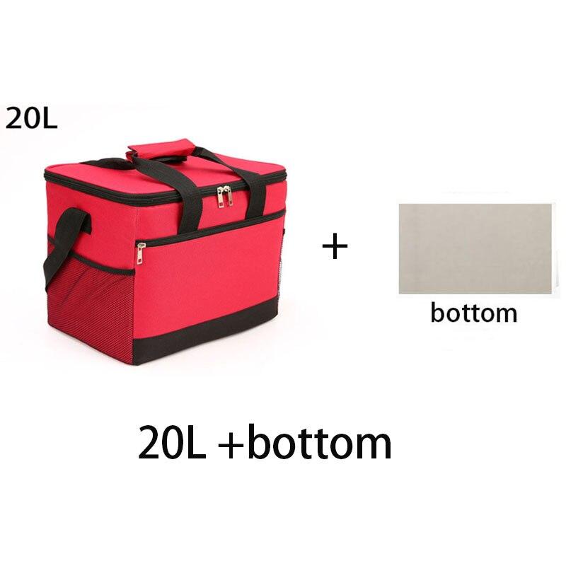 20L  Cooler Box Fast Food Bag Outdoor Portable Picnic Bag Small Refrigerator