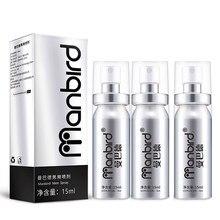3PC potężny Spray opóźniający wytrysk produkt dla mężczyzn przedłużacz penisa zapobieganie przedwczesnemu wytrysku powiększenie erekcja Spray Sex produkt