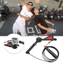ل Gopro سنتريفون رصاصة الوقت تأثير كاميرا تلاعب Selfie 360 درجة ل Gopro بطل 8 7 6 5 4 EKEN يي Sjam الرياضة عمل الكاميرا