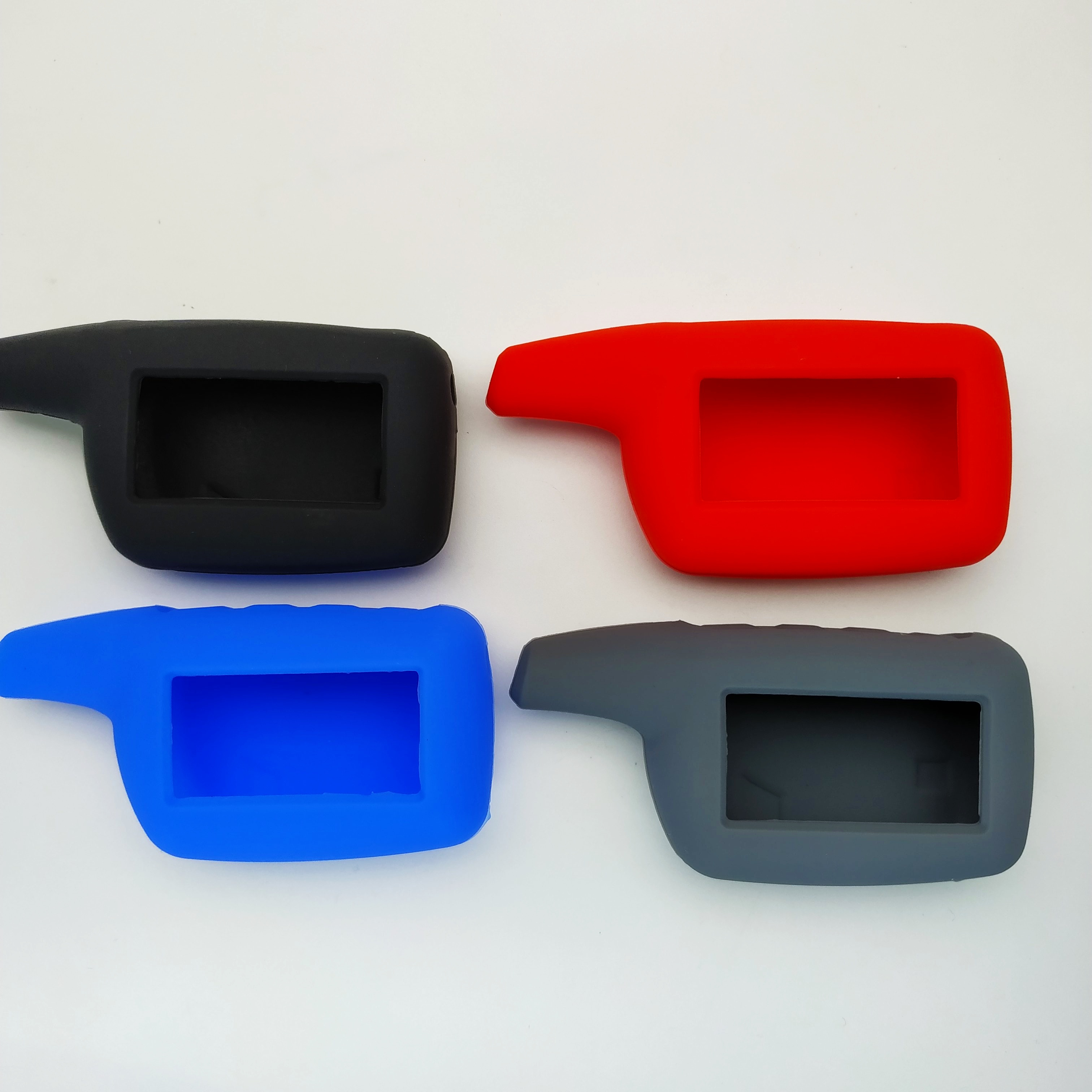 Russian Version Logicar 4 Silicone Case For Scher-khan Logicar 4 Lcd Remote Two Way Car Remote Controller