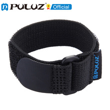 PULUZ حزام معصم من النايلون لجهاز التحكم عن بعد wi fi لـ GoPro HERO ، بطول 25 سنتيمتر ، أسود