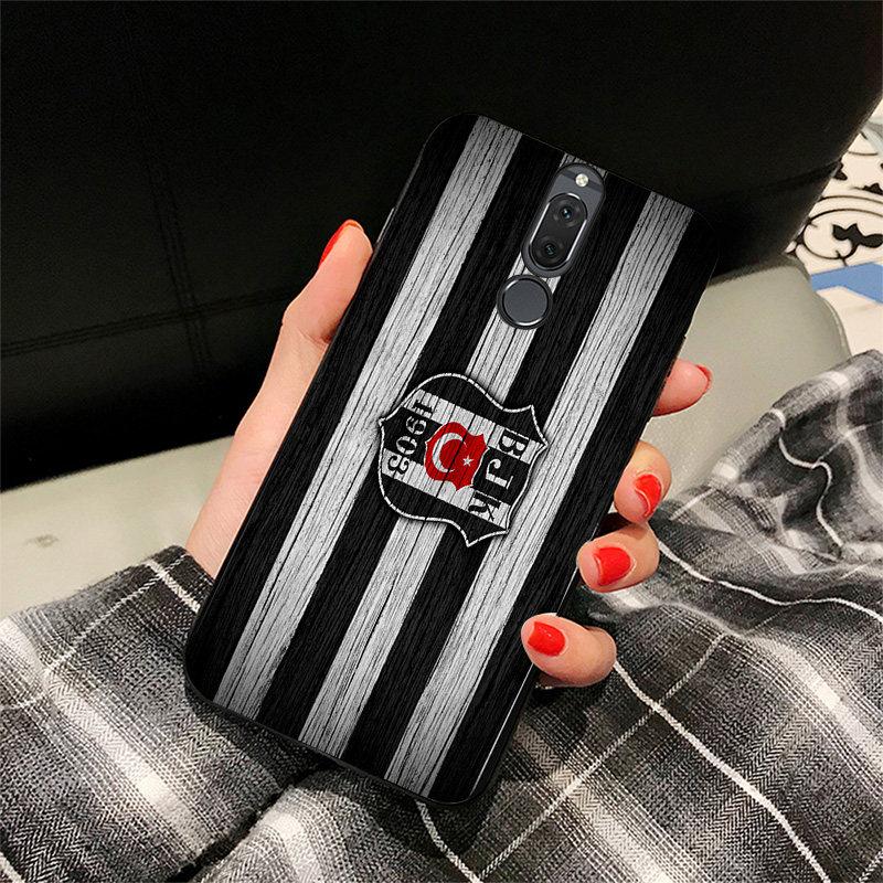 Yinuoda Phone Case For Besiktas FC Huawei P9 lite P10 Shell DIY Case Domagoj Vida For P8 lite 2017 mate 10 P30 lite NOVA lite in Half wrapped Cases from Cellphones Telecommunications