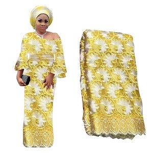 紫 2019 高級フレンチレースの生地高品質アフリカのナイジェリア花刺繍チュールレース生地結婚式のための石