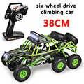 KaKBeir nouveau Wltoys 18628 rc voiture 1:18 six roues motrices escalade voiture 2.4G télécommande grand pied hors route véhicule grande taille 38cm
