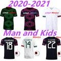 2021 мексиканская версия футбола Джерси мужская футболка + детский костюм на заказ для бега и пробежек