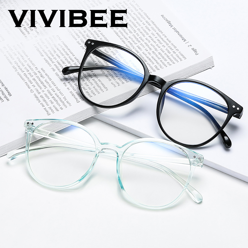 2020 Trends Office Anti Blue Light Oversized Glasses Computer Women Blue Blocking Gaming Big Size Men Eyeglasses Frame