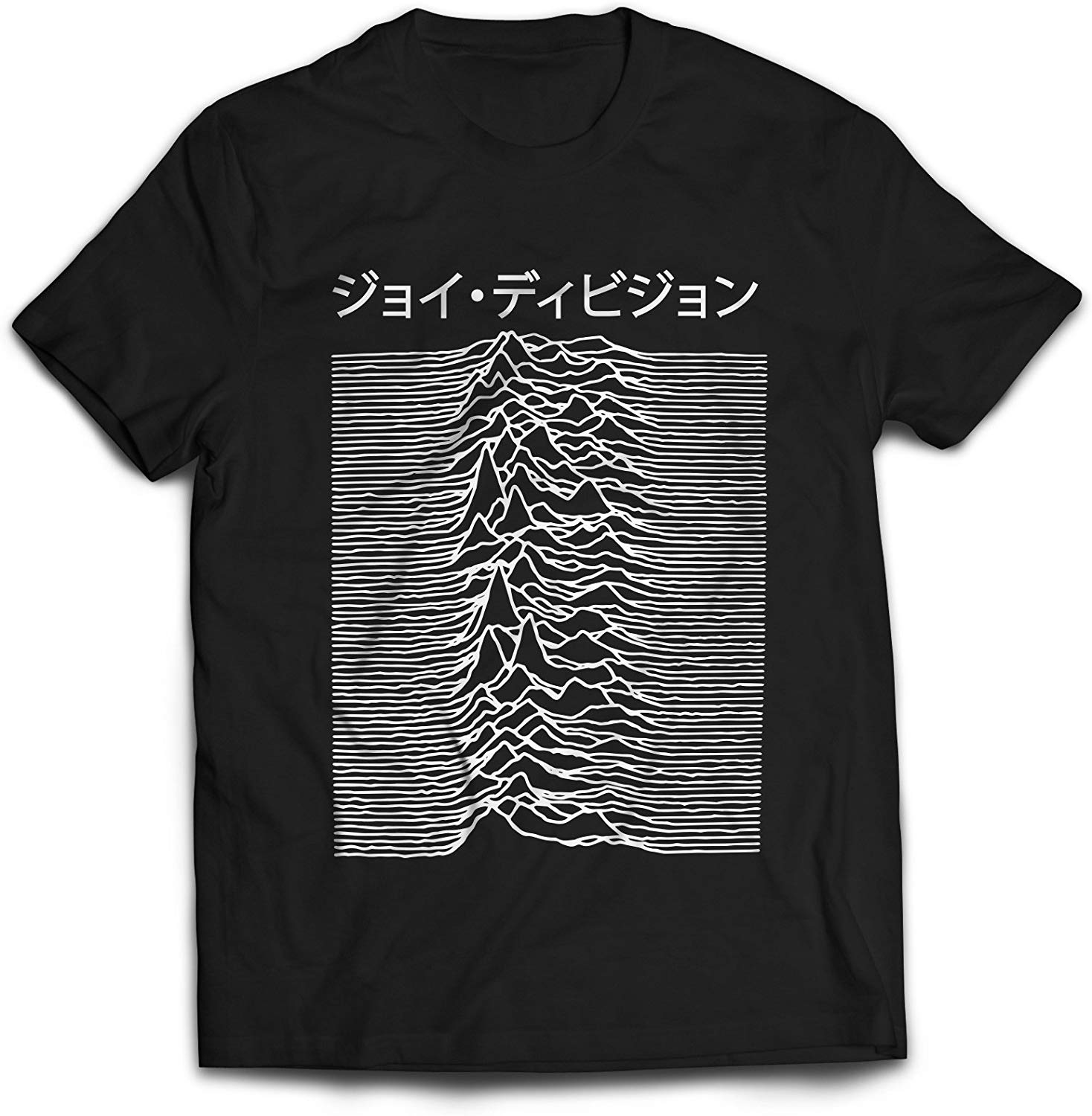 Japanese T Shirt Men Women Joy Division Used On Unknown Pleasures TEE Shirt Fashion Classic Style