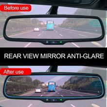 1 шт. 23x7,5 см пленка на зеркало заднего вида автомобиля HD Nano анти-туман непромокаемая анти-царапина прозрачная крышка автомобиля Наклейка для мотора внедорожника грузовика