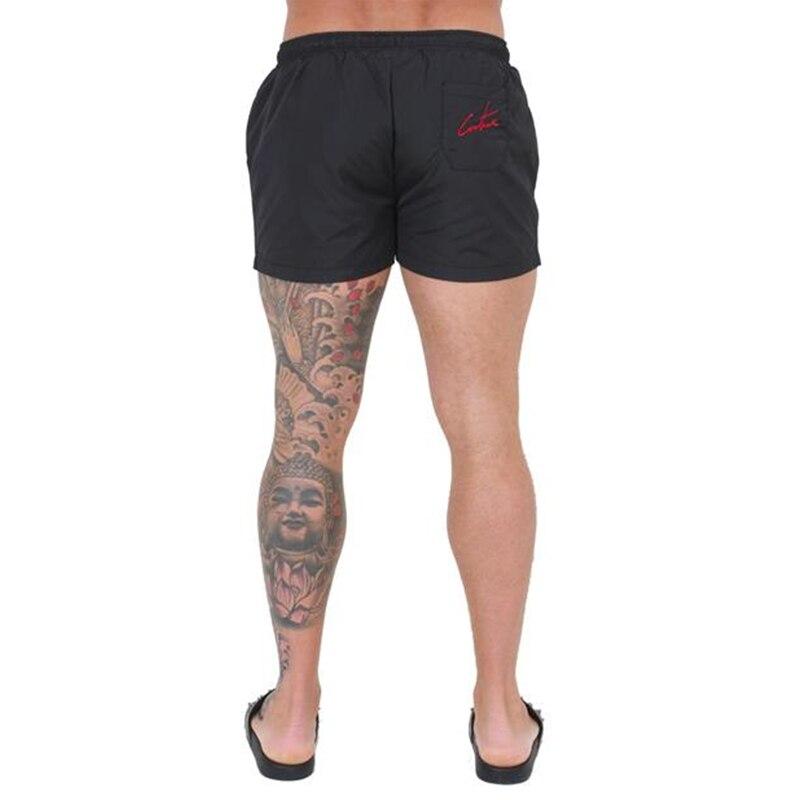 2019 новые мужские спортивные шорты для фитнеса бодибилдинга мужские летние повседневные крутые короткие мужские брюки штаны для бега и тренировок пляжная брендовая одежда