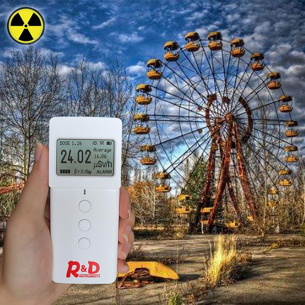 RD Geiger Counter Nuclear Radiation Detector Personal Dosimeter Detector Smart Compteur Geiger Muller Tester Radiat Dosimet