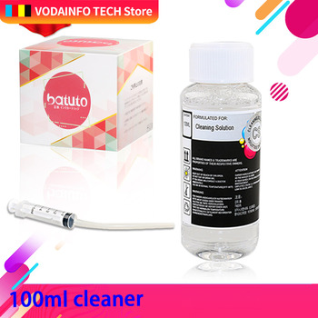 цена на QSYRAINBOW Print Head cleaner cleaning solution cleaning liquid fluid for HP EPSON CANON BROTHER Inkjet Printer Cartridge