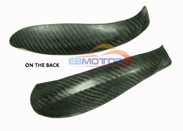 Reak Carbon Fibre Tape-On Mirror Covers 1pair For 2005-2012 Porsche 911 997 987 Carrera 2005-2012 T051M 6